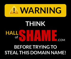 Banner link to HallofShame.com's Join the fight page