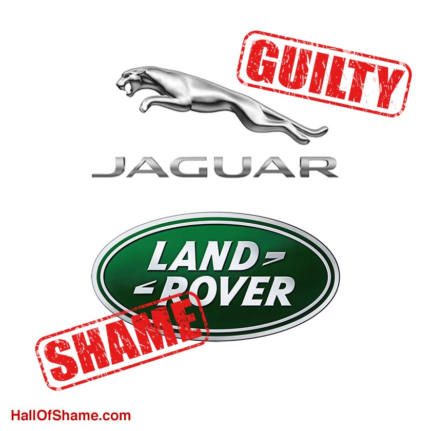 Jaguar Land Rover labeled Guilty of RDNH
