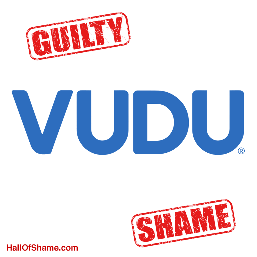 Streaming service Vudu Guilty of RDNH